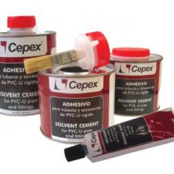 CEPEX-Kleber mit Pinsel...